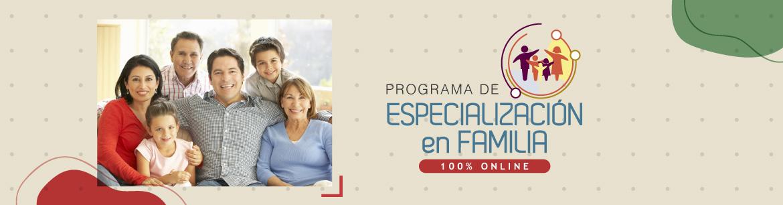 programa especialización familiar